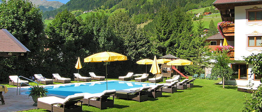 Alpenhotel Tirolerhof, Neustift, Austria - View of the outdoor pool & garden.jpg